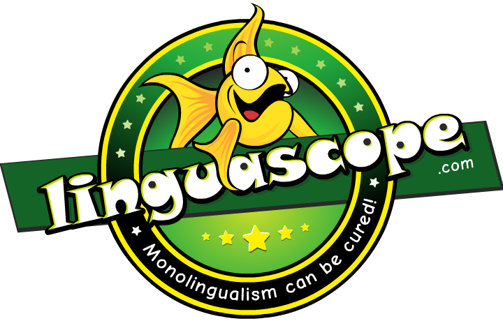 The Linguascope logo.